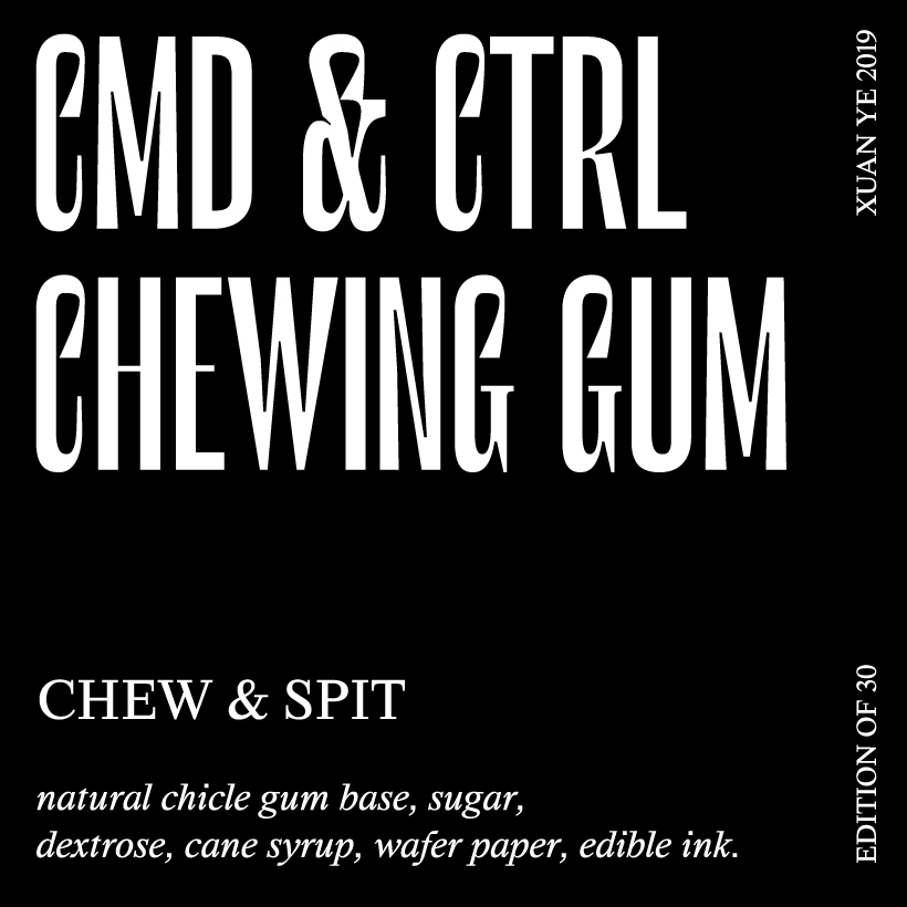 CMD & CTRL CHEWING GUM